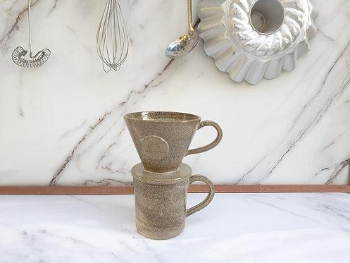 Natural Grey Filter Cone & Mug