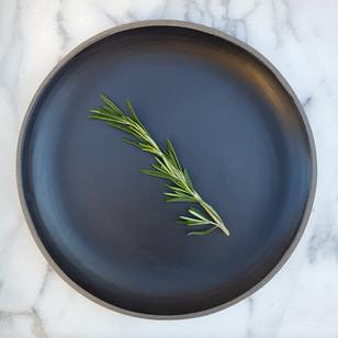 Black Matte Dinner Plate