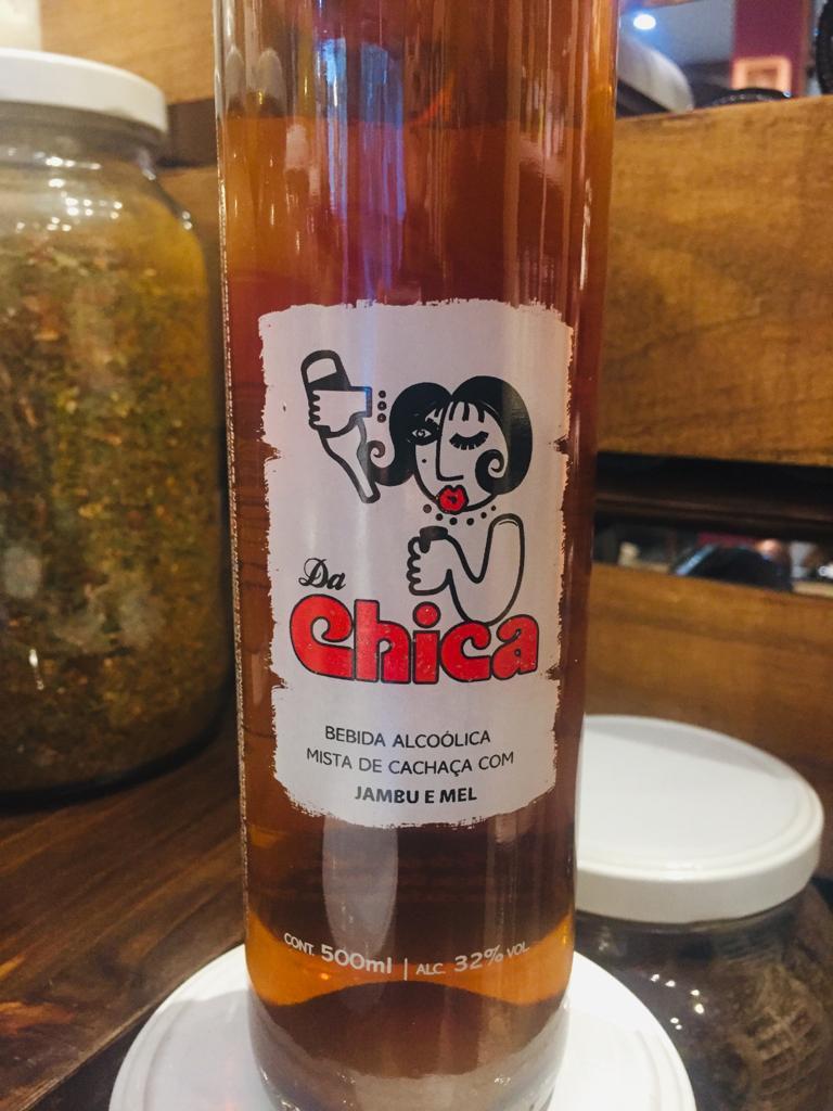 Cachaça Da Chica (com jambu e mel)