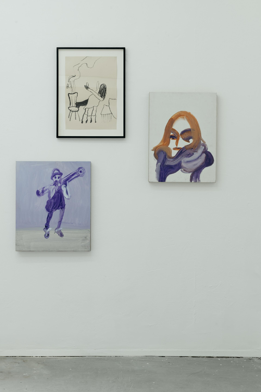 Three Portraits