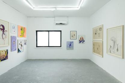 Installation View - MFA Thesis Show Bezalel Academy