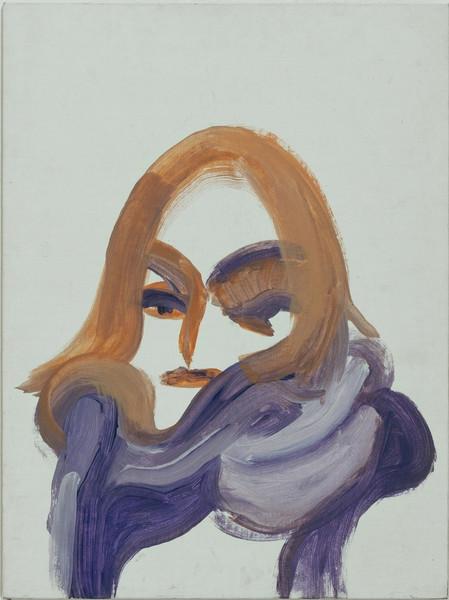 Self Portrait in Purple
