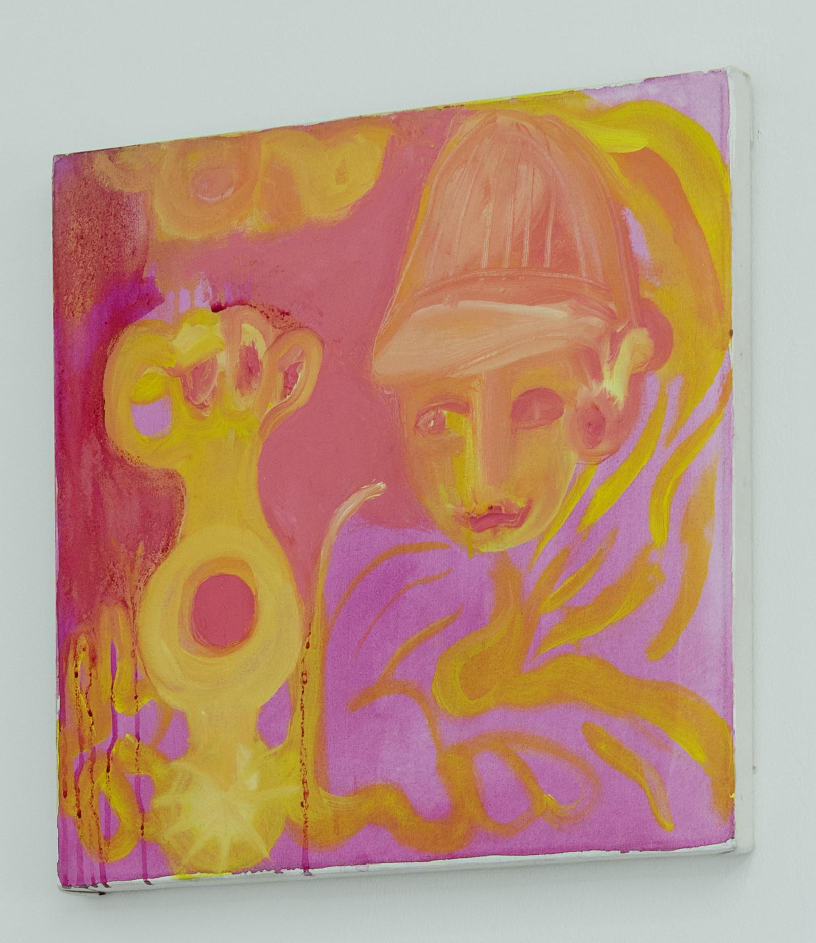 Oil on Canvas, 50*50 cm