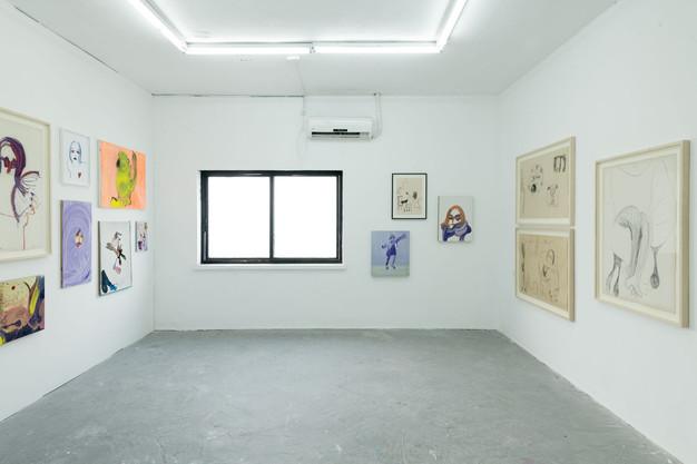 Installation View - MFA Thesis Show Bezalel Academy 2018