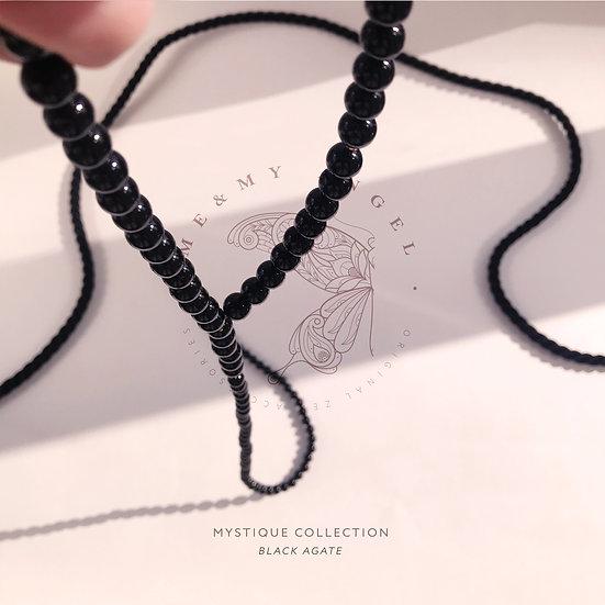 Trinity Choker-Rope&Leather Collar Set