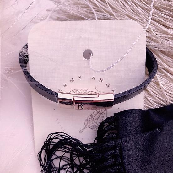 French Leather Bracelet