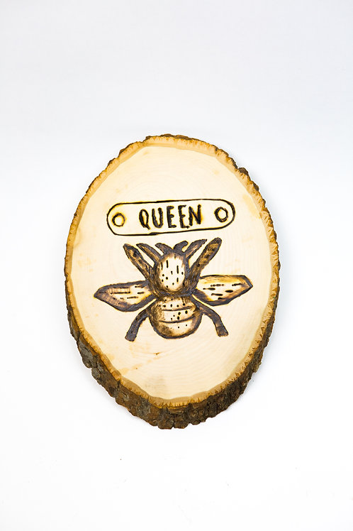 Queen Bee Plaque