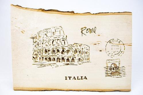 Italia Plaque