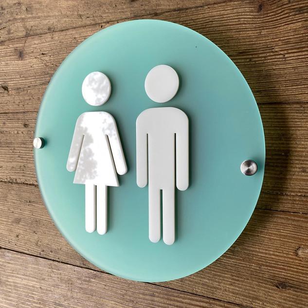 Acrylic Bathroom Standoff