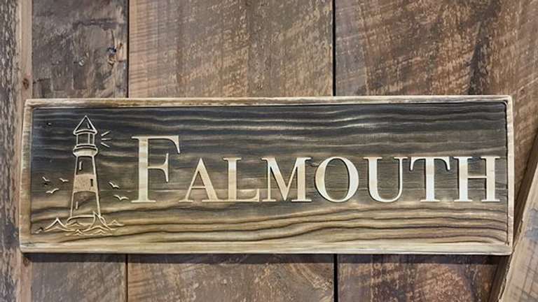 17 x 5 2D Engraved Reclaimed Wooden Sign