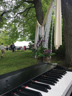 Playing for a wedding ceremony
