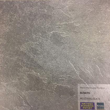 Stone Impressions Tile 8mm - Mustang Slate