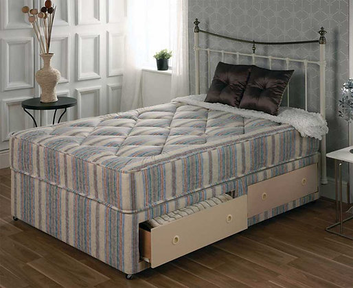 4.6ft Diana 2 draw Divan