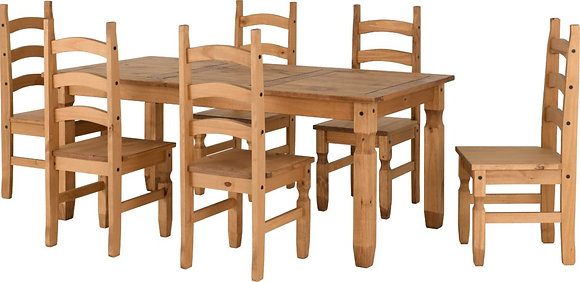 Corona 6ft Dining Set