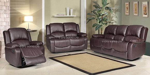 3+2+1 Minesota Sofa In Brown