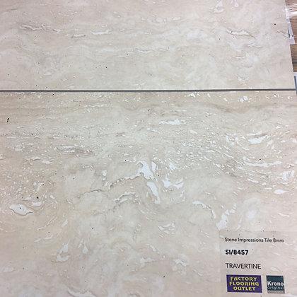 Stone Impressions Tile 8mm - Travertine
