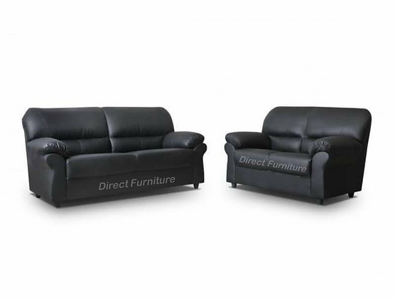 Candy 3+2 Sofa In Black