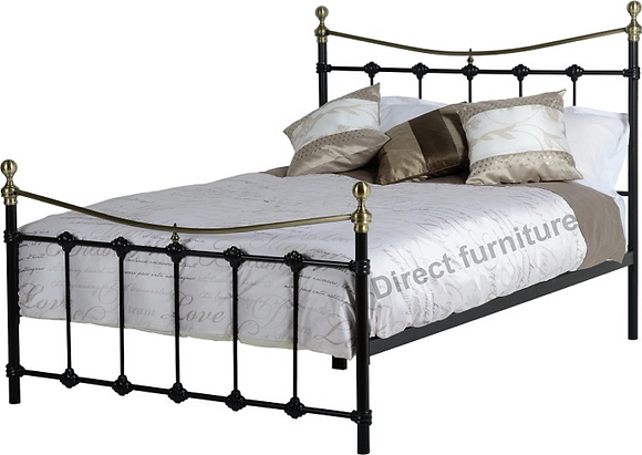 "Dakota 4'6"" Bed"