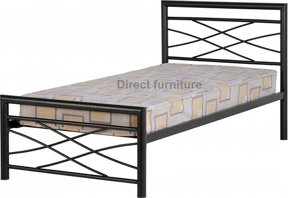 Kelly 3' Bed In Black