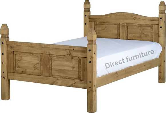 Corona 4' Bed High Foot End