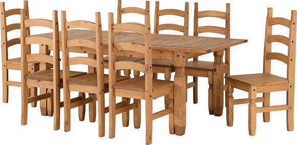 Corona Extending Dining Set - Eight Chairs
