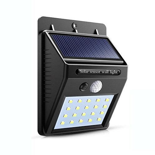 Solar Powered LED Motion Sensor Wall Light