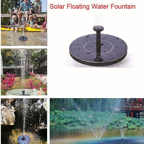 Mini Solar Water Fountain Garden Pool Pond Outdoor Solar Panel Garden Decoration