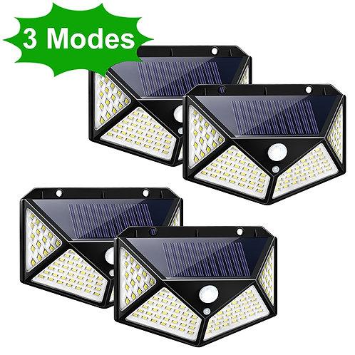 Outdoor Solar Lamp Motion Sensor Wall Light Waterproof for Garden Decoration