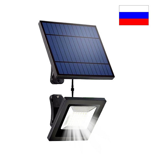Garden LED Solar Panel With 5M Cable Floodlight Wall Lamp With Solar Battery