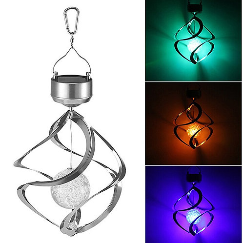 LED Solar Lamp Color-Changing Wind Chime Home Garden Lighting Outdoor Decoration