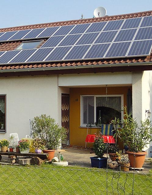 2.5KW Solar Grid Tie System  (300W solar panels + 2.5kW Inverter + Dual MPPT )