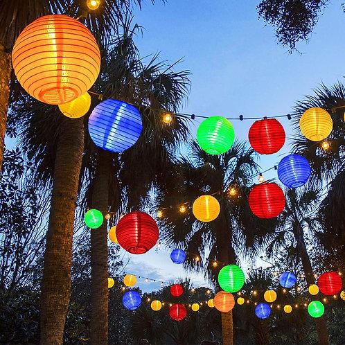 30 LED Solar Powered Waterproof Light Strip for Garden Decoration