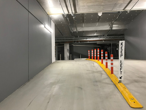 TCA Separation kerb carpark lane divider