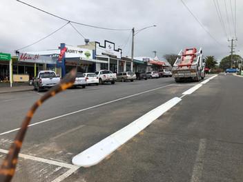 Traffic calming australia Bullnose rubbe