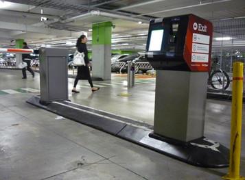 TCA Semi Mountable kerb-Carpark- boom ga