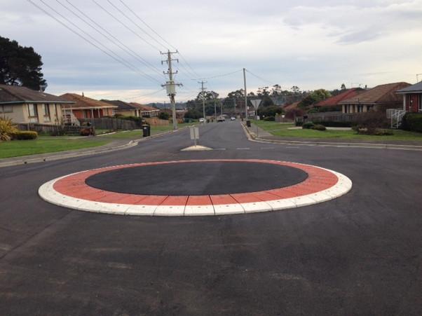 M4 profile rubber roundabout- traffic ca