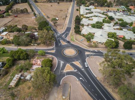 traffic calming australia rubber roundab