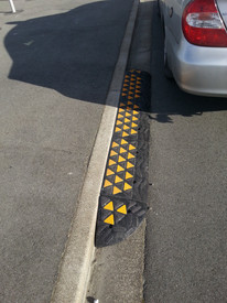 kerb ramps 150mm h traffic calming austr