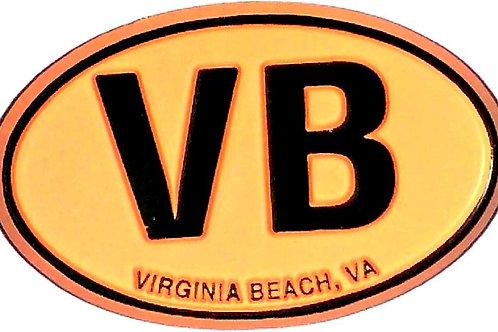 30308 - Rubber Magnet VB Oval Orange