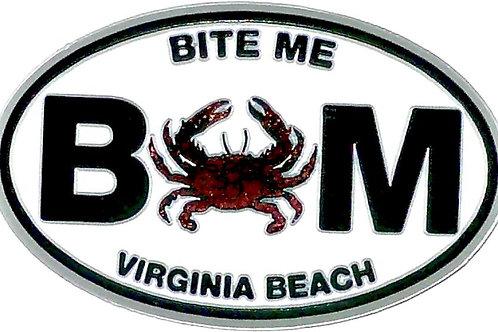 30101 - Rubber Magnet VB Bite Me