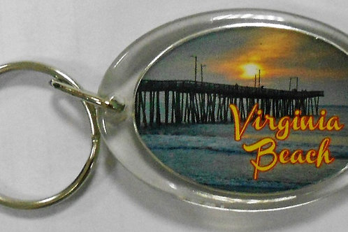 30195 - Lucite Key Ring VB Pier