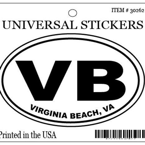 30262 - Hanging Oval Sticker VB