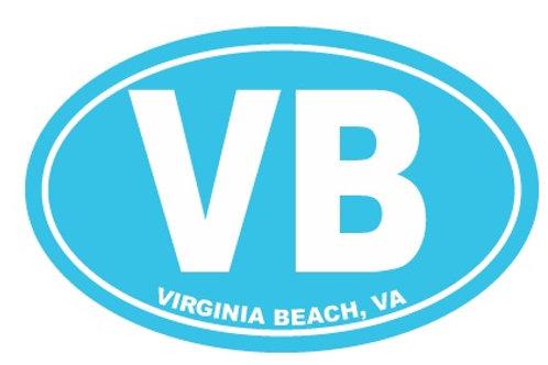30105 - Car Magnet VB Blue