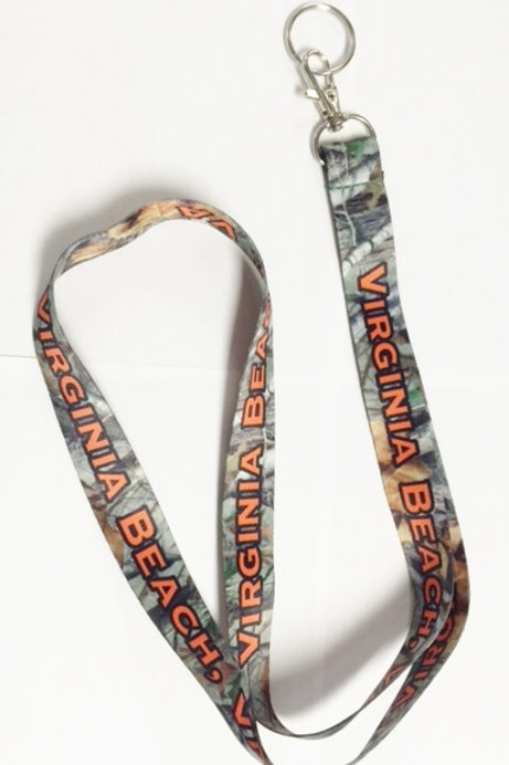 30280 - Sublimated Lanyard VB Camo