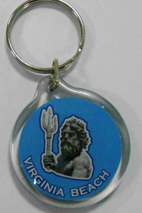 30196 - Lucite Key Ring VB Neptune