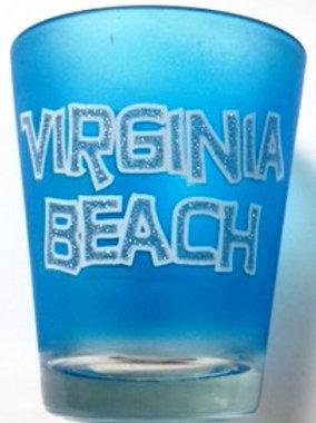 30124 - Sparkle Shot Glass VB Blue