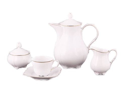 """Чайный сервиз, 15пр., """"Романтика"""", «Lefard», 660-011"""