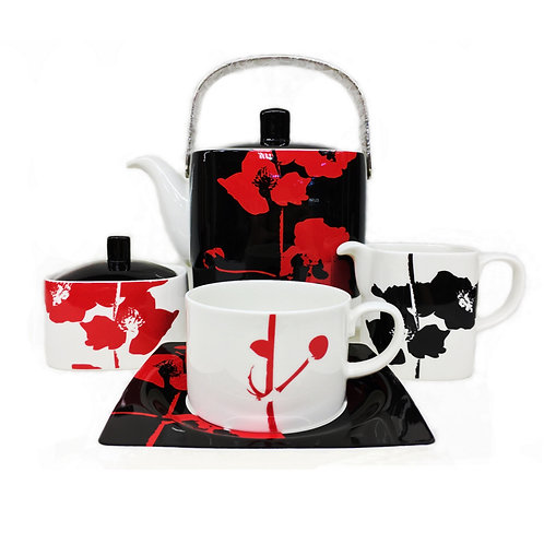 "Чайный сервиз, 17пр., ""Калла Виста"", «Royal Fine China», 8922/17"