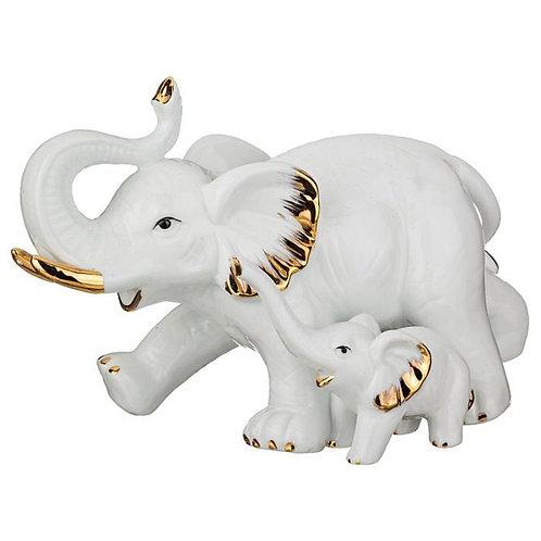 "Статуэтка ""Слон со слоненком""."