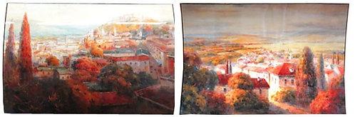 """Картина """"Тоскана"""", пара Top Art Studio, производство Франция."""